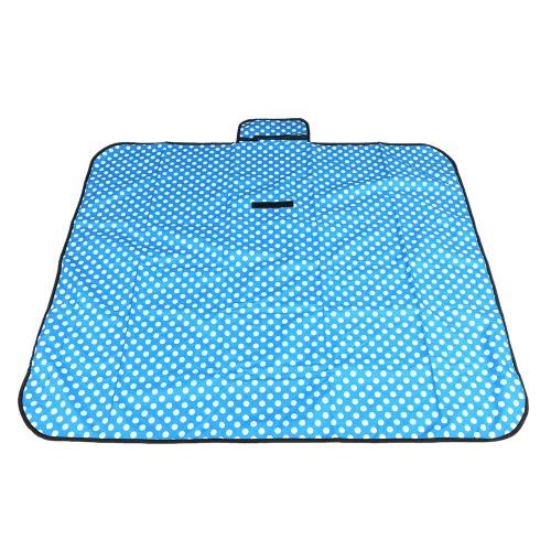 Multi-functional Picnic Mat Light Weight Outdoor Waterproof Moisture-proof Beach Blanket Cushion Foldable Baby Crawling Children Playing Mat 140 * 120 CM