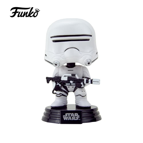 Funko POP Star Wars: Episode VII - The Force Awakens First Order Flametrooper Action Figure Collection Bobble-Head Decorative Article