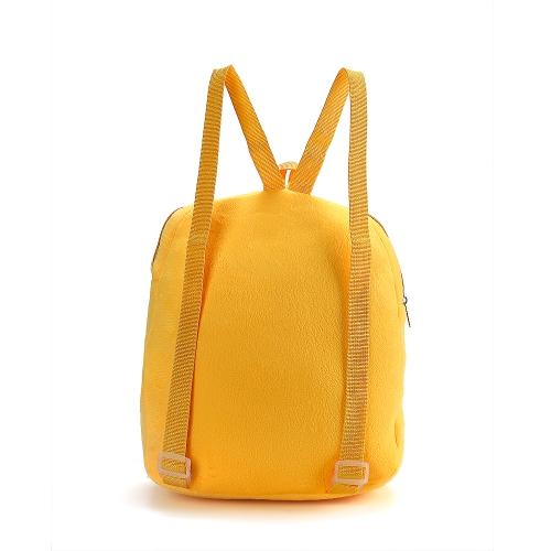 Nette Emoji Emoticon Umhängetasche Schöne Schulkind Tasche Plüschtier Rucksäcke Schulranzen Rucksack Schultasche Geschenke für Jungen Mädchen Kinder 6 #