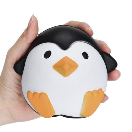 Slow Rising Squishy Penguin Stress Relief 10cm Soft Kawaii Animals Cute Collection Gift Decor Toy