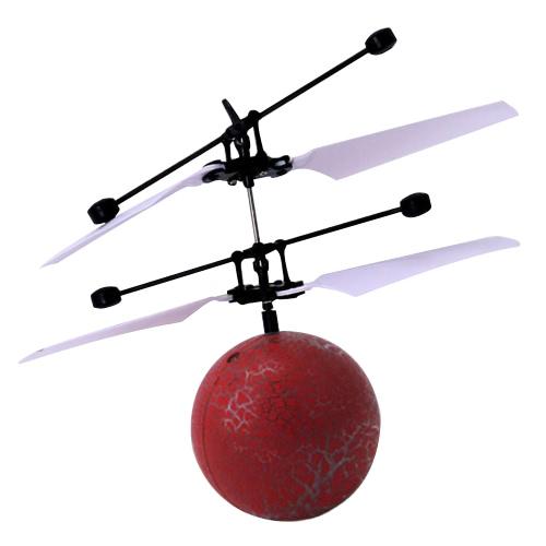 ファンタスティック新しいファッション赤外線誘導ドローンフライングフラッシュディスコカラフルシャイニングLED照明ボールヘリコプター子供キッド玩具ジェスチャーセンシングリモートコントロールのUSB充電を使用する必要