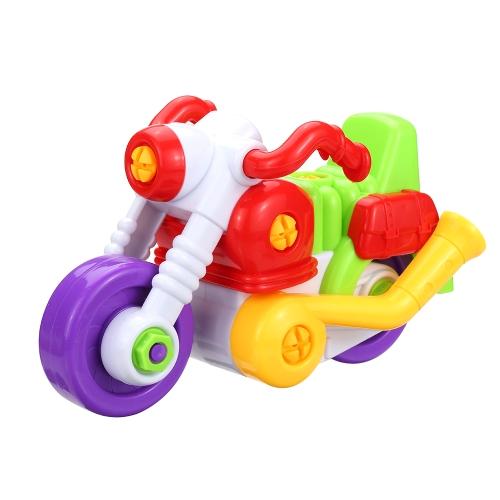 Simpimポップギフト子供子供の赤ちゃん面白い分解アセンブリレンタルスクリュードライバープラスチックスタイル1でクラシックカーのおもちゃのオートバイ