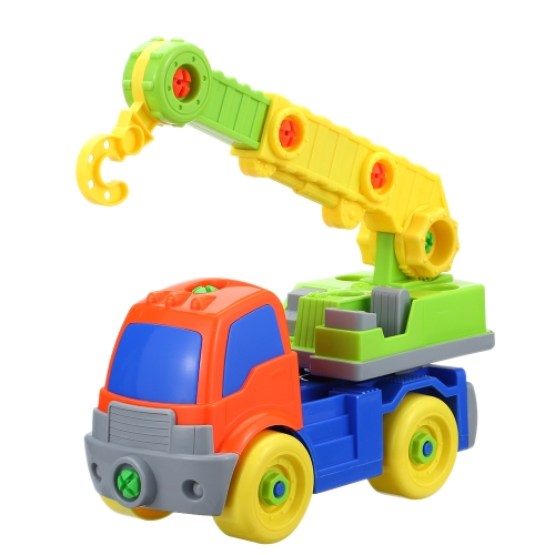 Baby Kinder Puzzle Lernspielzeug Kinder Demontage Montage Cartoon Auto Geschenk Ausgrab Maschinen Spielzeug Große für Spaß Spielen Stil 1