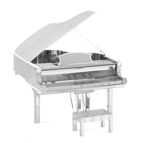 3D Puzzles Grand Piano - 3D Metal Model Kit - DIY Model Musical Instrument Educational Toys