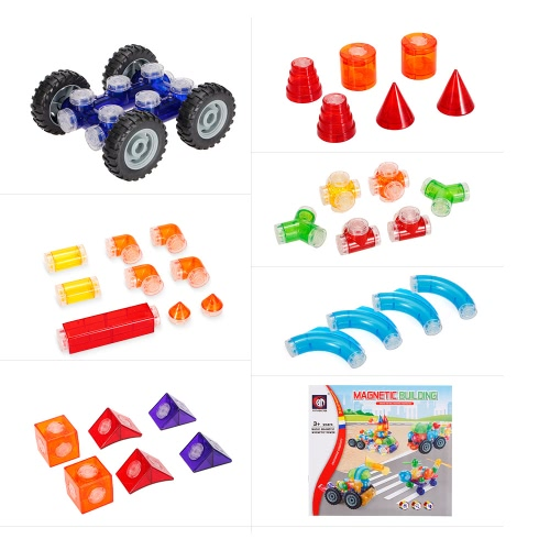 XINBIDA 8032 32PCS Magnet Building blocchi magnetici di costruzione giocattoli educativi per i bambini
