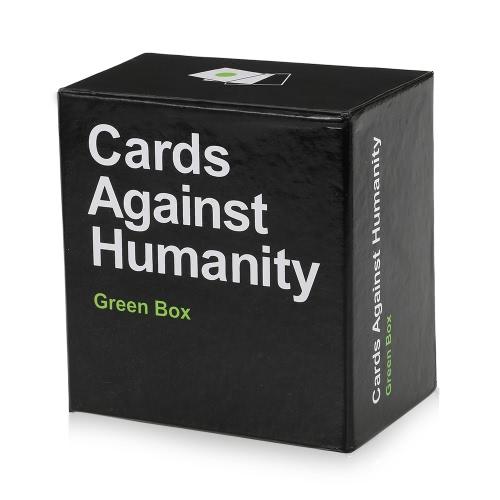 人間性のパーティーカードゲームカード - 恐ろしいプレイ - グリーンボックス
