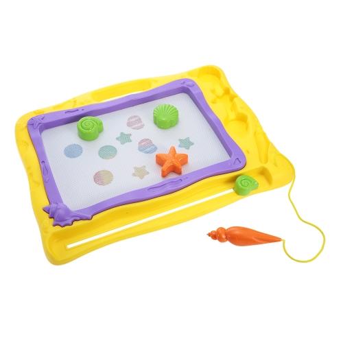 Tavolo da disegno magnetico colorato Tavolo da disegno cancellabile Sketchpad Regalo per bambini Giocattolo educativo per bambino