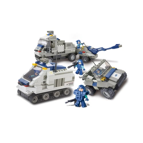 Sluban M38-B0208 467pcs Special Forces Armored Artillery Regiment Building Block Construction Toy for Kids