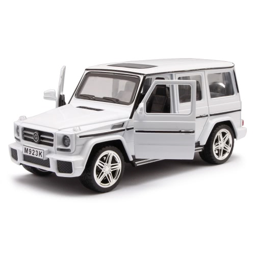 1:24 Alloy Diecast Car Model - Benz - White