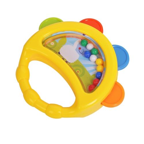 GOODWAY G23 Sonajeros de mano de bebé Campana Campana Juguetes Niños Happy Buddy Recién nacidos de regalo