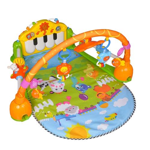 GOODWAY Baby Spielen Gym Matte Musik Klavier Gym Teppich Spielzeug für Baby Früherziehung