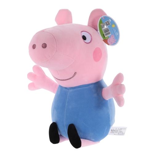 オリジナルブランドPeppa Pig 46cmブラザージョージぬいぐるみぬいぐるみ家族パーティードール子供のためのクリスマス新年の贈り物