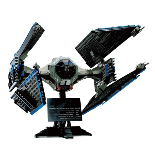 Caja Original LEPIN 05044 703pcs Limited Edition the TIE Interceptor - Star Wars Spaceship Juego de bloques de construcción