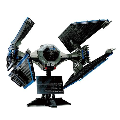 LEPIN 05044 703pcs Limited Edition the TIE Interceptor Star Wars Spaceship Building blocks Kit Set - Plastic Bag Package
