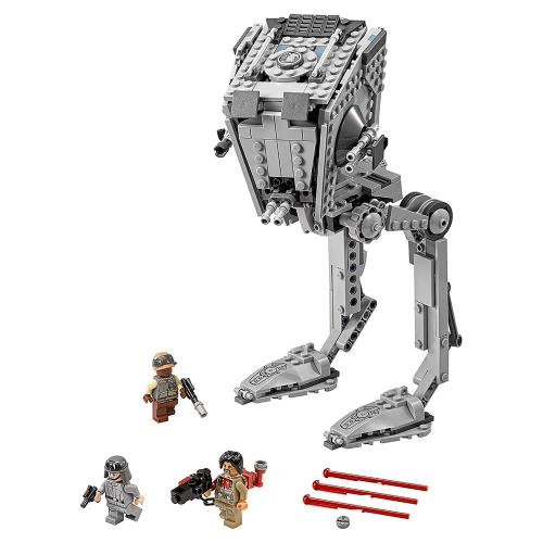 LEPIN 05052 1068 stücke Star Wars Serie AT-ST Modell bausteine Kit Set - Plastiktüte Paket