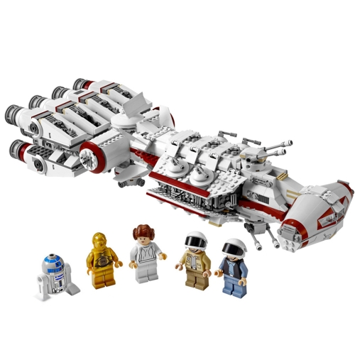 LEPIN 05046 1748pcs Star Wars The Tantive IV Blockade Runner Building Blocks Kit Set - Bolsa de plástico embalado