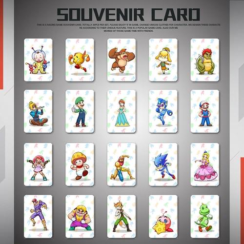 20 sztuk kart do tagów NFC 215 dla Switch / Wii U
