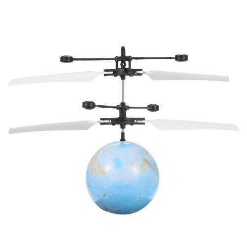 浮上した光フライングボールインテリジェントヘリコプター赤外線誘導フラッシュフライボールLEDライトアップおもちゃ子供のおもちゃのギフトスタイル1