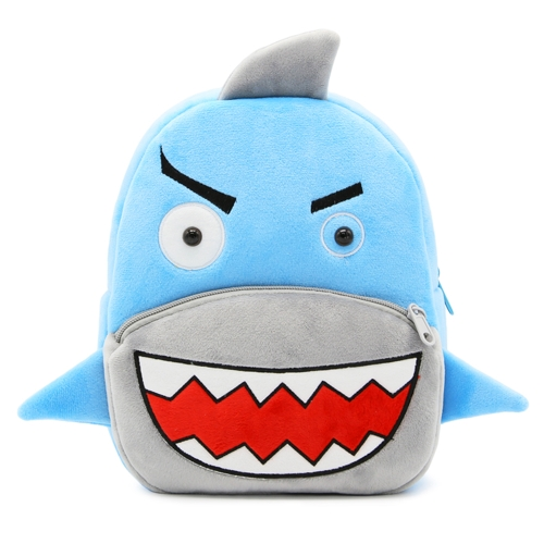 3D Animal Cartoon Plush Children Backpacks