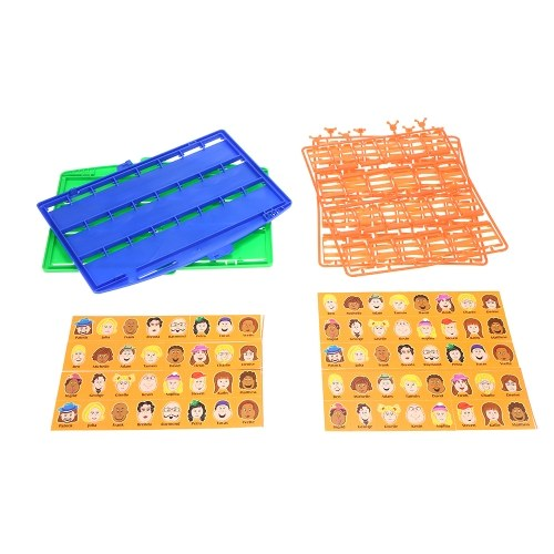 Image of Who am I Game Table Game Card Family Fun Guess Puzzle Games Educational