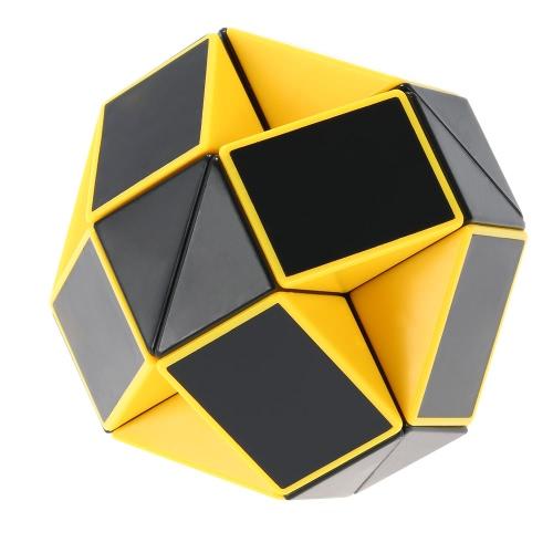 Original Shengshou Magic Ruler Cube Snake Black and White Twist Puzzle Educational Toy