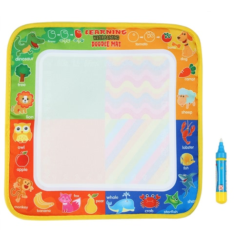 Non-toxic Water Drawing Mat Board Painting and Writing Doodle With Magic Pen