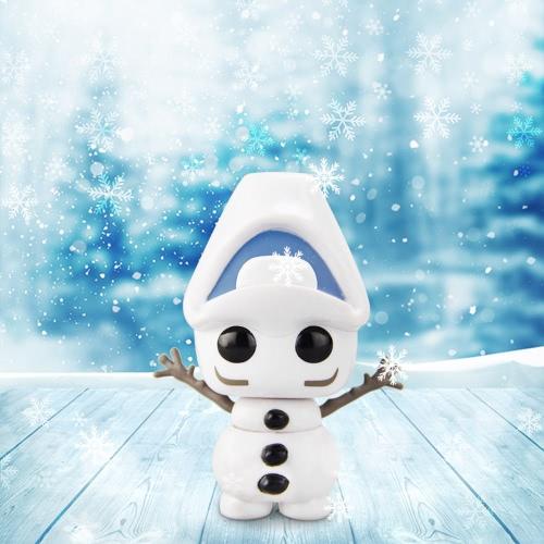 FUNKO POP Movie Frozen Action Figure Vinyl Model Collection - Upside Down Olaf