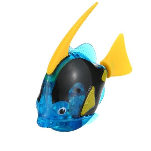 おもちゃのおもちゃ水族館の装飾を演奏するファンシー玩具電子ロボット泳ぐ電動魚玩具の子供の子供