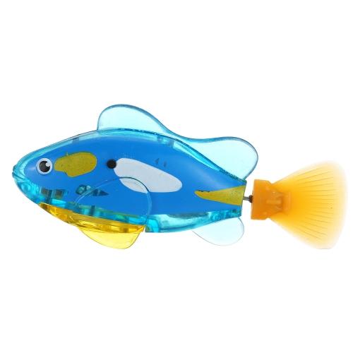 派手な電子魚のペットロボット魚のスイミングワンダフルエレクトロニク