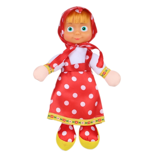 新しい人気のマシャの大きな目の金髪の人形かわいい素敵な子供のおもちゃ高品質のグレートギフト