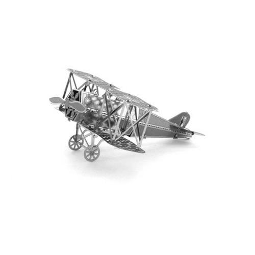 3D Puzzles FOKKER D-VII Kämpfer - 3D Metall Modell Kit - DIY Modell Tier pädagogischen Spielzeug