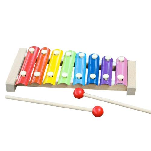 手は木琴楽器玩具を叩く知恵開発音楽能力訓練木製楽器