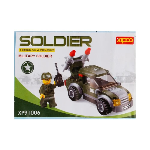 3セットXIPOO軍事シリーズXP91006兵士XP91007砂漠は兵士XP91008を指揮する特殊部隊教育ビルディングブロックおもちゃ