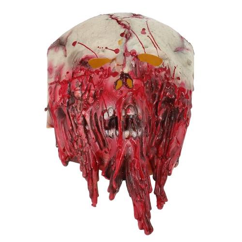 泣き顔のマスクホラーゴーストヘッドギアモンスターハロウィンパーティーの装飾バックルームフィルムの小道具