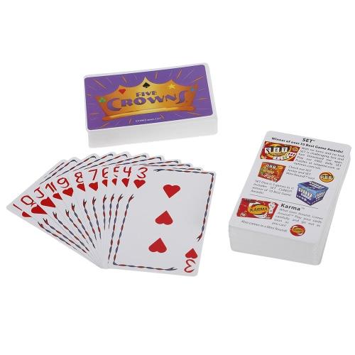 Pięć Koron Karty Gra Karty do Gry Stołowej