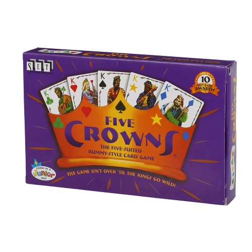 $1.69 OFF Five Crowns Card Game Party Play Cards,free shipping $7.66(Code:MT1224)
