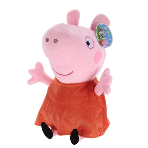 オリジナルブランドPeppa Pig 46cm Peppaぬいぐるみぬいぐるみファミリーパーティードール子供のためのクリスマス新年の贈り物