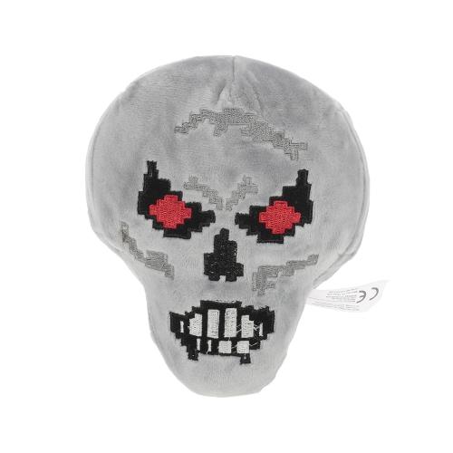Minecraft Skeleton mit roten Augen Plüsch Stofftier Bestes Geschenk für Kind und Sammler