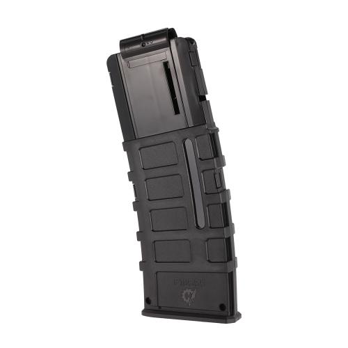 Arbeiter 12-Dart Magpul Stil Tactical Black Clip Magazin für Nerf Spielzeugpistole
