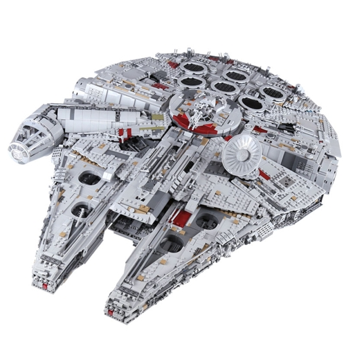 Original Box LEPIN 05132 8445 Stück Star Wars Raumschiff Ultimate Millennium Falcon Force erwacht Bausteine Kit Set