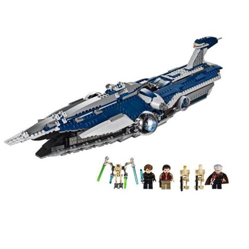 LEPIN 05072 1192szt. Samvolence Warship Star Wars Spaceship Zestaw klocków - Pakiet plastikowej torebki