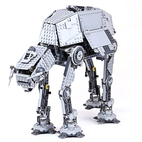 LEPIN 05050 1137pcs Star Wars Motorizado caminar AT-AT Star Wars Building Blocks Kit - Paquete de bolsa de plástico