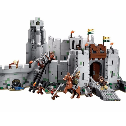 Original Box LEPIN 16013 1368pcs Movie Series The Lord of the Rings The Battle of Helm's Deep Model Building Blocks Bricks Kit Set
