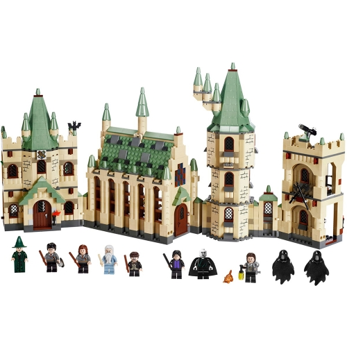 LEPIN 16030 1340pcs Serie Movie Harry Potter Hogwart's Castle Modello Building Blocks Kit mattoni - Sacchetto di plastica confezionato