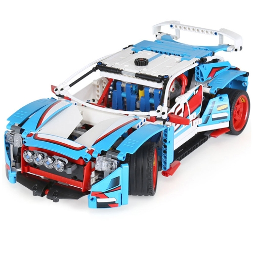 LEPIN 20077 1085pcs Technic Series Rally Car Modello Building Blocks Kit di mattoni - Pacchetto sacchetto di plastica