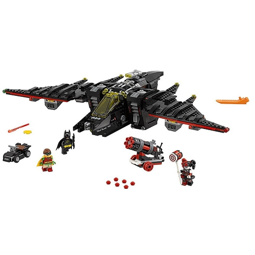 Original Box LEPIN 07080 1068pcs Super Heroes Series Batman Movie The Batwing Model Building Blocks Bricks Kit