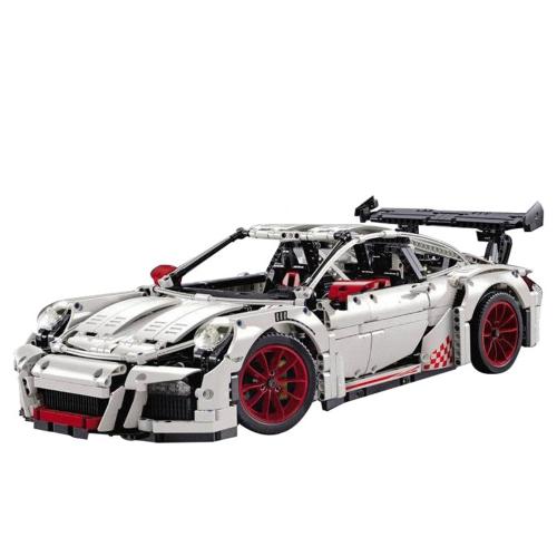 LEPIN 20001B 2758pcs Technic Series Race Car Model Building Blocks Bricks Kit White-Plastic Bag Package