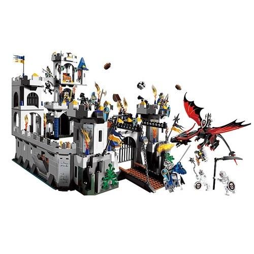 LEPIN 16017 1023 stücke Movie Series King's Castle Belagerung Modell Bausteinziegelsteine Kit Set - Plastiktüte Paket
