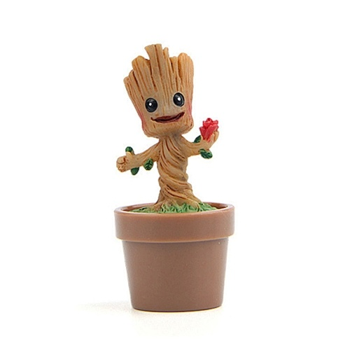 Guardianes de la galaxia - Groot Collectible Figure Flowerpot Fans...