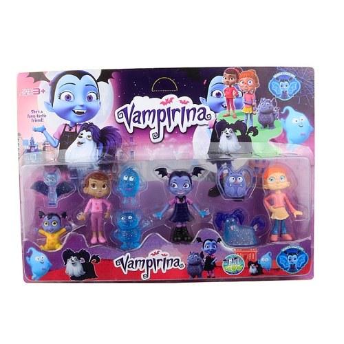 9Pcs Vampirina Collectible Figure Toys Disney Action Figure Cartoon Fans Gift